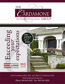 The Cardamone Group Brochure cover